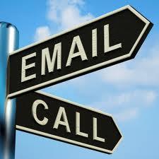 viết e-mail vs call