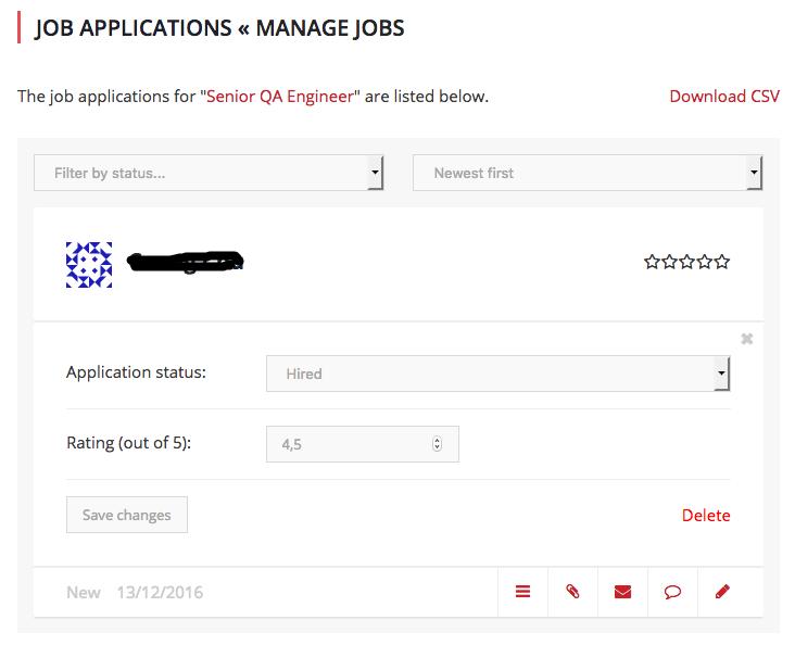 quảng lý tuyển dụng